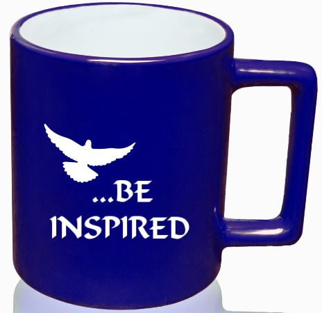 Be Inspired - Blue mug